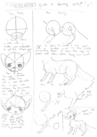 How I draw cats by thehowlinghoodie