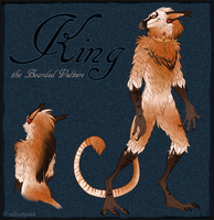 King - Red Reference by VulturePunk