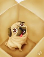 Pug by WEAPONIX