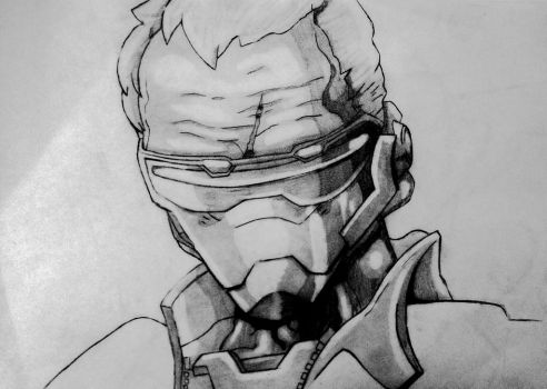 Soldier 76  by noahdraws12