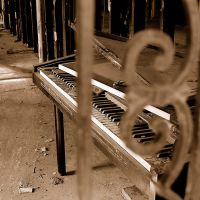 Pained Piano by Badmojo8
