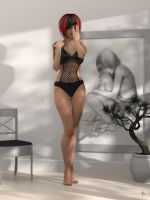 Rebuilding Faith - White Room - Bathing Suit 1 by ruhney71