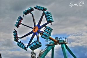 a ride in thorpe park by amna-alq