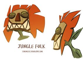 Jungle folk 1 -concept- by Tanimatic