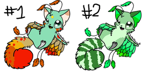 Furpea Adoptables(open) by PrePAWSterous