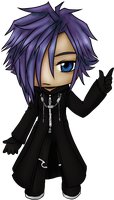 Chibi Zexion by ssceles