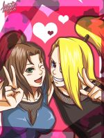 AR - Azumi and Deidara by LotusMartus