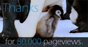 Thanks For 80,000 Pageviews GIF by EdArtGeek