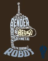 Bender Typography by Alakran
