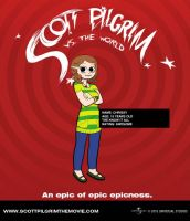 Scott Pilgrim DevID by TheNerdYouAllLove