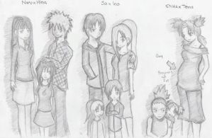 Naruto Couples as Parents by PinayNaruto