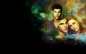 Bella and Jacob - Sometimes by Firlachiel