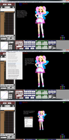 Tut: Adjusting model positions with motion loaded by TeamVocaloid