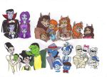 Monstrous Families by KessieLou
