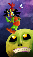 Skull Kid by itsaaudra