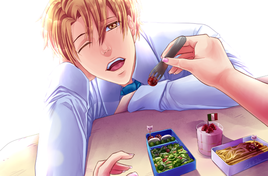 bento with love - nath by ChiNoMiko