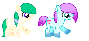 PONY ADOPTS - OPEN- by P-Pixie-Adopts-Bases