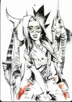 Segovia And The Swordfish by JimMahfood-FoodOne
