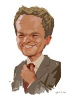 Barney Stinson by Monkill