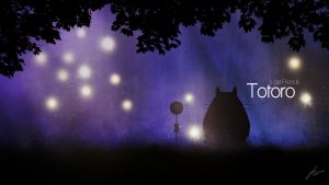 Totoro - Last Friends by Lucsy3012