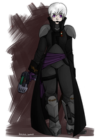 Imperial Inquisitor Rose Lalonde by Cursed-cat