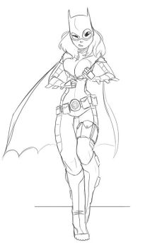 Batgirl - CCD commission by Drunken-Novice