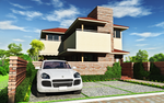 Japanese Modern House 02 by afsan-deviant