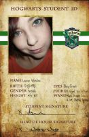 Slytherin Student ID by Tomoyo-plumqueen
