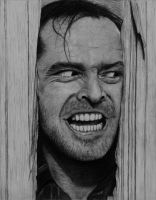 Jack Nicholson - The Shining by PMucks