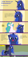 The Voice of Friendship by DraconicRuin