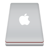 Mac HDD icon 2 by FocusMan