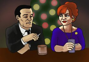 Don and Joan by jcool4u
