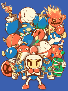 The Ultimate BOMB - Bomberman shirt design by SarahRichford