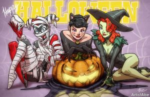 Happy Halloween 2014 by ArtistAbe