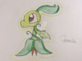 Little Peashooter !! by HumbleKitty