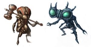 Insect Guys by Spider-Loot