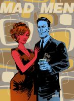 MAD MEN by urban-barbarian
