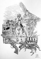 The Gunslinger by electrifried