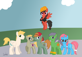 Recess ponies by Lomise