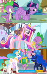 Spike gets ALL the Princesses in Season 5 by Titanium-dats-me