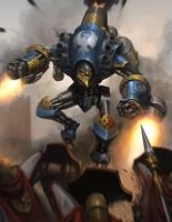 Warmachine Minuteman by Luches