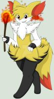 May The Braixen by Zander-The-Artist