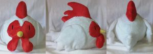 Harvest Moon chicken by Plush-Drops