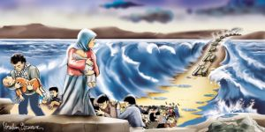 Moses in Gaza by ademmm