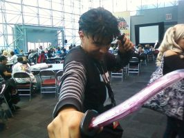 me, NNy from JTHM NYCC AF 2011 by Cheruben