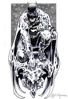 Batman - The Winter Knight by JeffSequeira