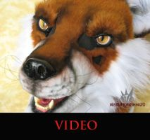 Fox mask video and auction link by MissRaptor