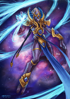 Psionic Storm by fivetinsoldiers