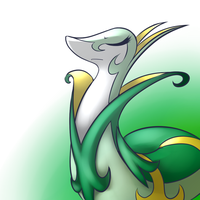 Serperior by PonySocialExperiment