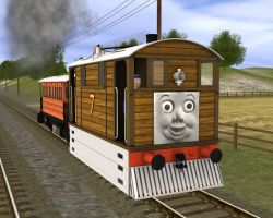 TRAINZ SI3D Toby by 736berkshire